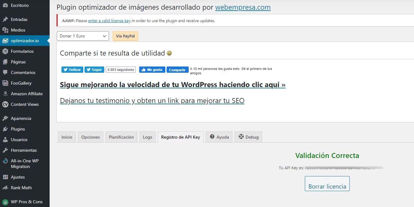 Optimizar imágenes wordpress