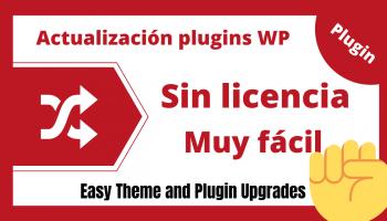 Actualizar plugins y temas sin licencia
