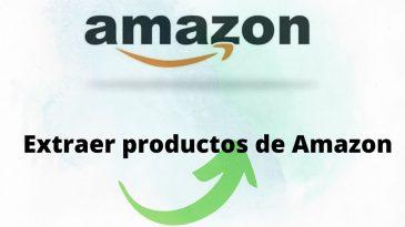Extraer productos de amazon