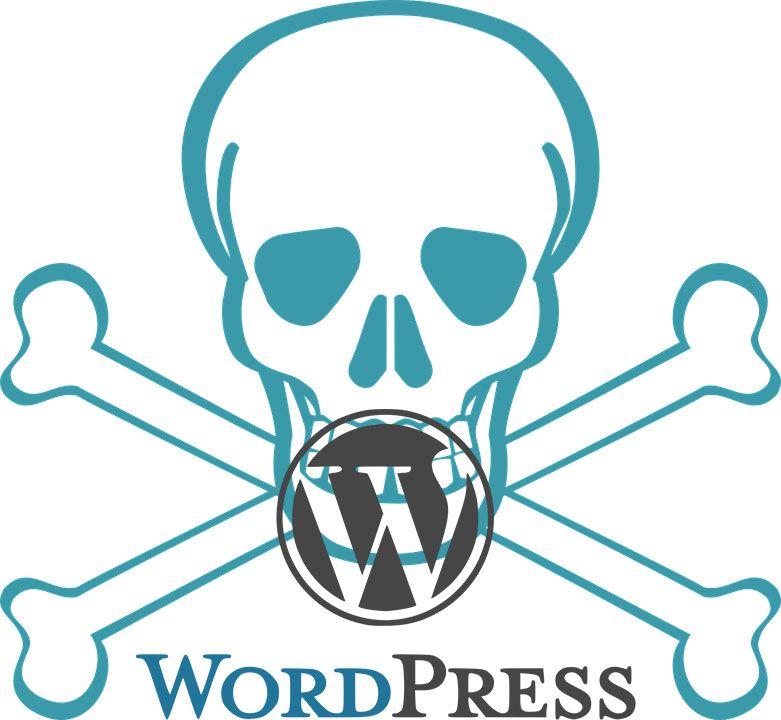 pantalla de la muerte en wordpress